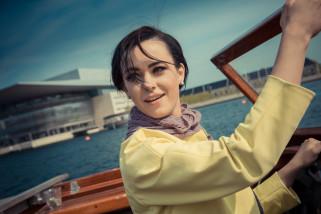 Eurovison-Skipper Mariya & Mariko på tur i havnen